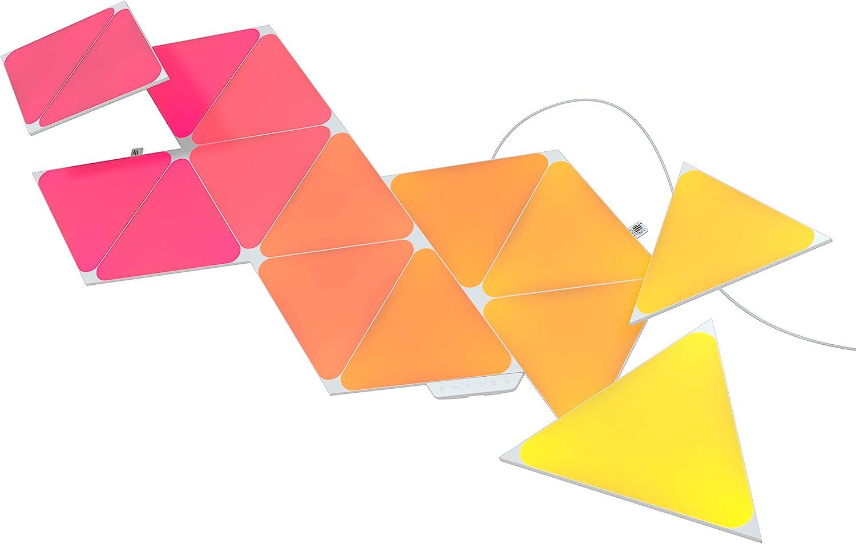 Nanoleaf Shapes Triangles Kit de Démarrage - 15 Panneaux Lumineux