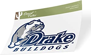 Drake University Bulldogs NCAA Vinyl Decal Laptop Water Bottle Car Scrapbook (Sticker - 00001)