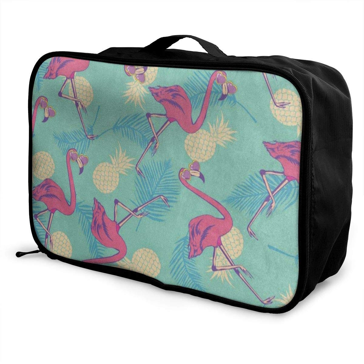 Luggage Bag Travel Duffel Bag Waterproof Vintage Wise Owl On Books Lightweight Large Capacity Portable Storage Bag