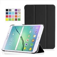 MoKo Samsung Galaxy Tab S2 8.0 Case - Ultra Sottile Leggero Supporto Custodia per Samsung Galaxy Tab S2 8.0 inch Tablet, NERO (Con Smart Cover Auto Sveglia / Sonno)