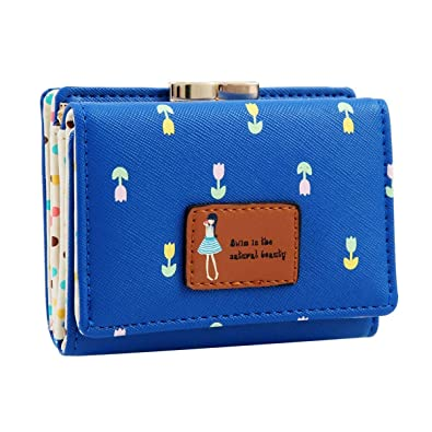 Moca Cute (Lil Tulip s)Portable Synthetic Small Clutch Wallet For Women s  And Girls - d2df00f5906e6