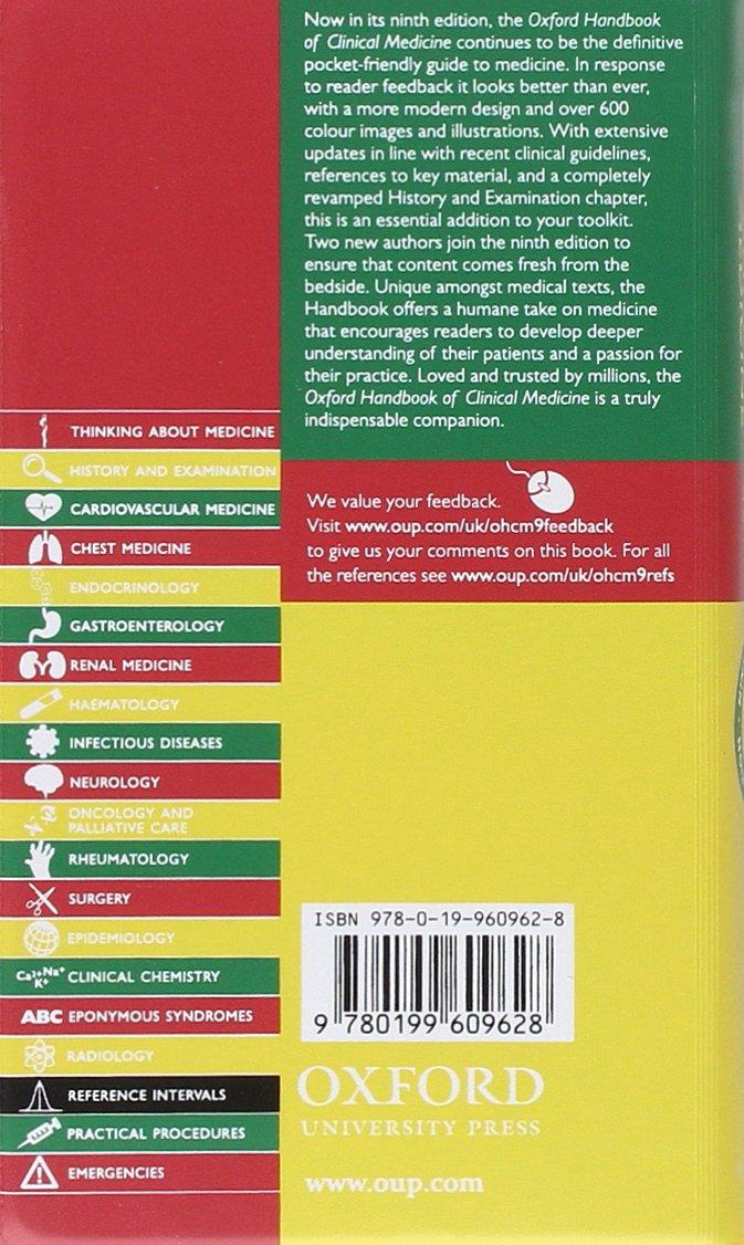 Oxford Handbook Of Clinical Medicine Ebook