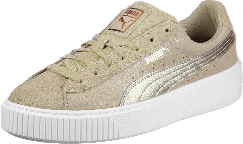 Puma Damen Suede Heart Beige Safari Sneaker Beige Heart (Safari) abfb46