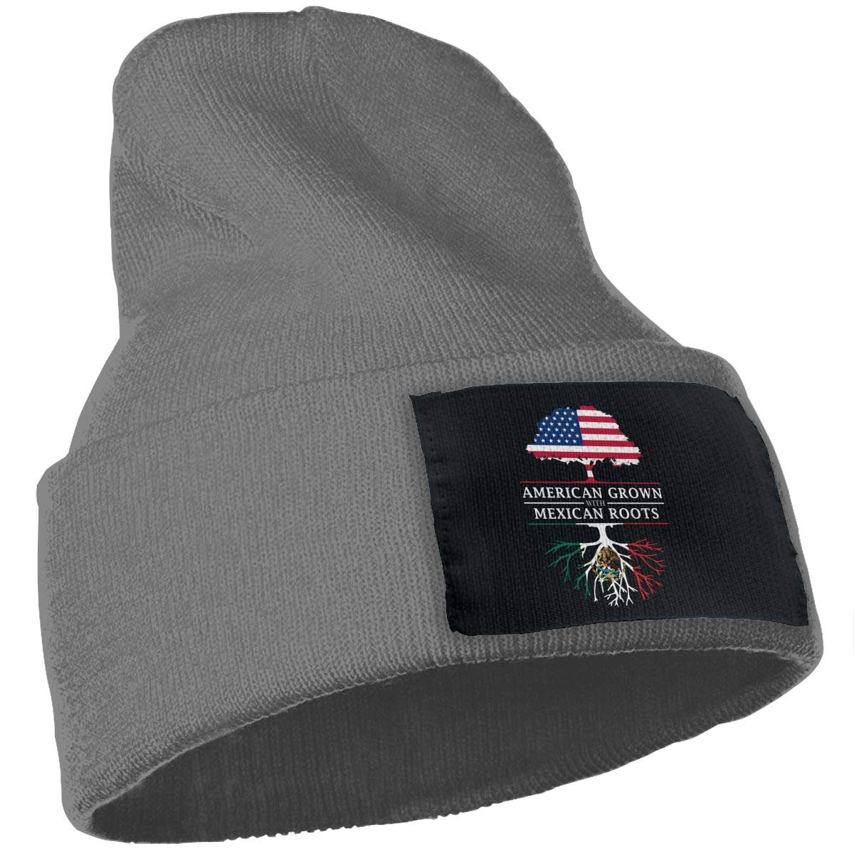 Zml0pping American Grown with Mexican Roots Unisex Cap