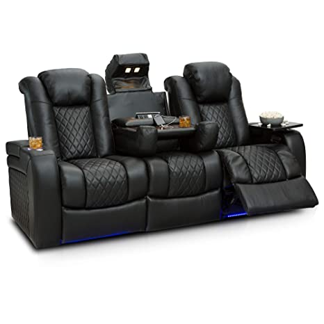 Amazon.com: Seatcraft Anthem - Sofá reclinable multimedia ...