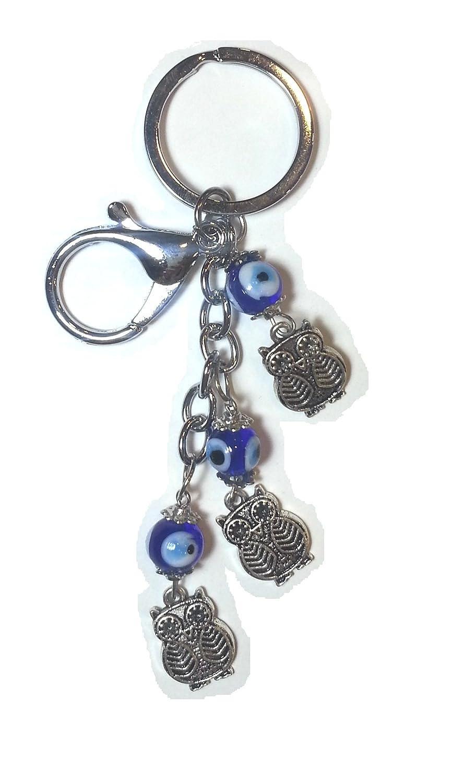 Llavero de la suerte, amuleto ojo turco: Amazon.es: Hogar