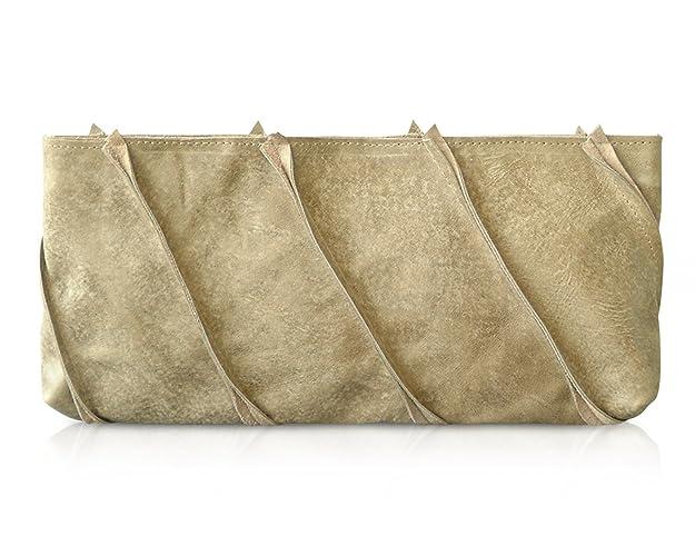 Amazon.com: handmade leather clutch bag, leather clutch purse ...