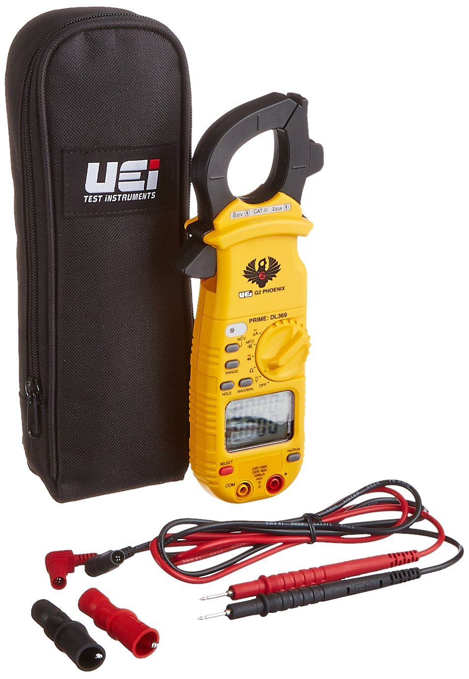 UEi DL369 Digital Clamp-On Meter