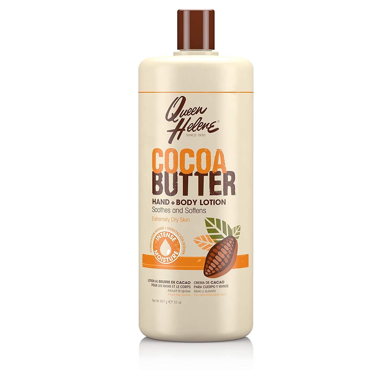 Queen Helene Hand + Body Lotion, Cocoa Butter
