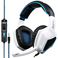 SADES Latest Version Ps4 Headphones,Sades SA920 3.5mm Stereo Bass Gaming Headset with Microphone for New Xbox one PS4 PC…