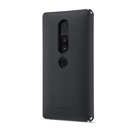 save off af526 23cde Sony Official Genuine Xperia XZ2 Premium SCSH30 Style Cover Stand Case -  Black