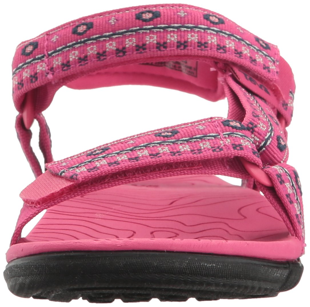 Teva Girls' Hurricane 3 Sandal, Hippie Raspberry, 6 M US Toddler by Teva (Image #4)