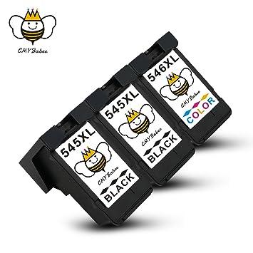 PG-545XL CL-546XL Cartuchos de Tinta CMYBabee de Reemplazo para ...