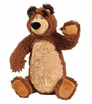 Simba Toys Masha Plush Bear Oso de juguete Felpa Marrón - Juguetes de peluche (Oso