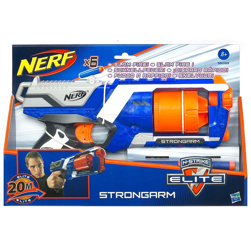 Nerf Blaster N-Strike N-Strike Elite Strongarm Strongarm Blaster B009NFH7CC, ランブル バイ ジーマ:380396cb --- gamenavi.club
