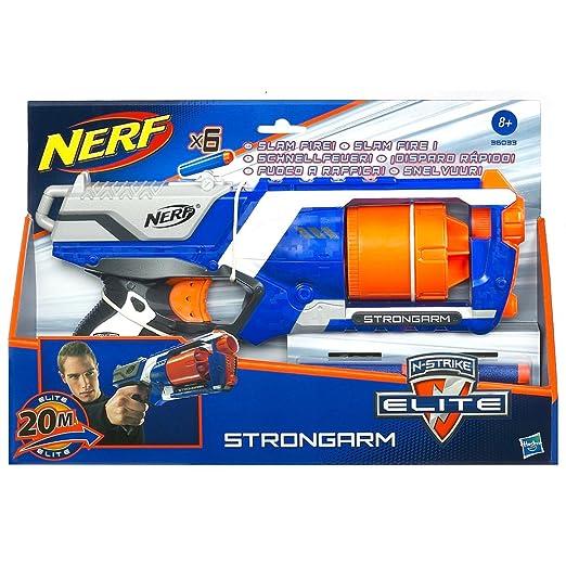 157 opinioni per Hasbro 36033E24- Nerf N-Strike: Strongarm Blaster, serie Elite, incl. 6 dardi