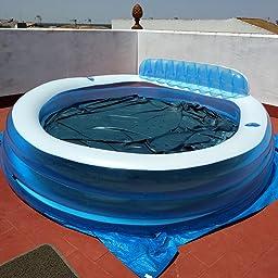 Intex 57190NP - Piscina hinchable con sillón 229 x 218 x 79 cm, 640 litros: Amazon.es: Jardín