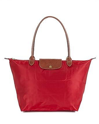 5be192cb964 Amazon.com: Longchamp Le Pliage Large Tote - Deep Red: Shoes