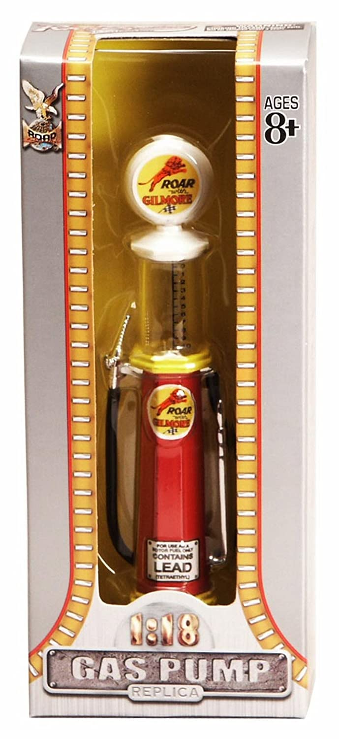 Amazon.com: Cylinder Gas Pump Roar with Gilmore, Red - Yatming 98732 - 1/18 scale diecast model: Computers & Accessories