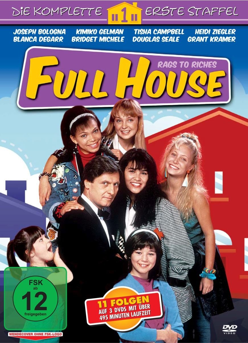 Full House Rags To Riches Staffel 1 3 Dvds Amazonde