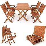 Garden Velino Folding Table Outdoor Patio Furniture Garden Outdoors
