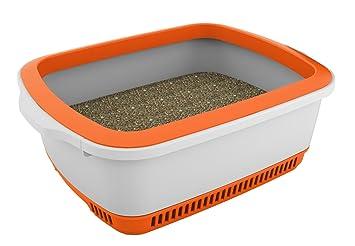 Canada Litter 0897438000524 - Arenero noba Anti-Olor y Auto-secante, Color Naranja: Amazon.es: Productos para mascotas