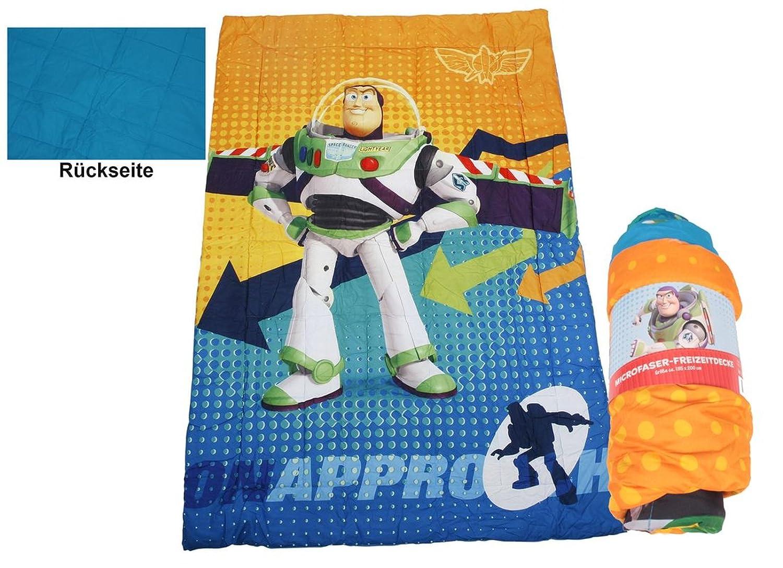 Disney Toy Story Kinder Bettdecke Microfaser Kuscheldecke Babydecke mit Buzz Lightyear Motiv 135x200 cm N.N. IW-610958
