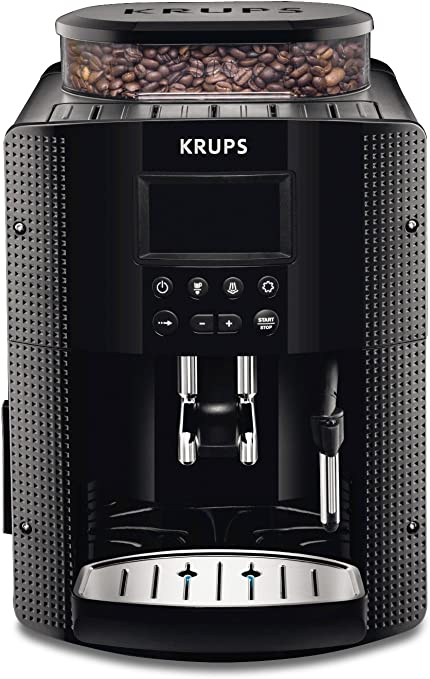 Krups EA8150 - Cafetera Automática 15 Bares de Presión, Pantalla ...
