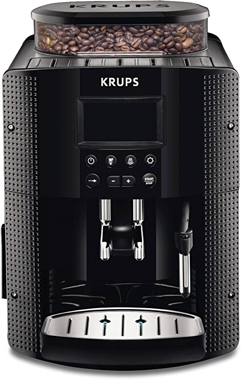 Krups EA815070 - Cafetera Automática 15 Bares de Presión, Pantalla ...