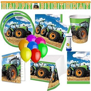 Traktor Trekker - Juego de Accesorios para Fiestas (75 ...