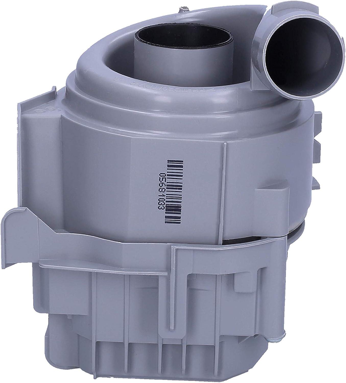 Wessper Heizpumpe Umw/älzpumpe Motor passend f/ür Bosch Siemens Sp/ülmaschine 12019637