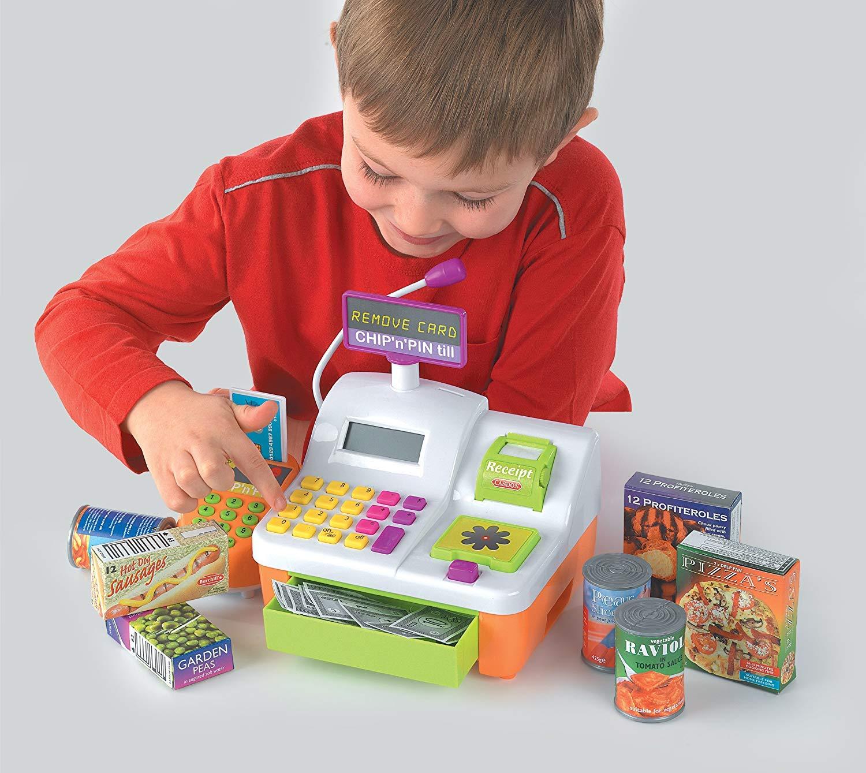Caja registradora de juguete Casdon Chip n Pin