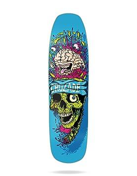 Cruzade Brain Tablas Skateboard, Unisex Adulto, Azul, Talla Única