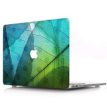 AQYLQ Funda Dura para MacBook Air 13 Pulgadas (A1369 / A1466), Ultra Delgado Carcasa Rígida Protector de Plástico Acabado Mate Cubierta, ZW-7 Hoja ...