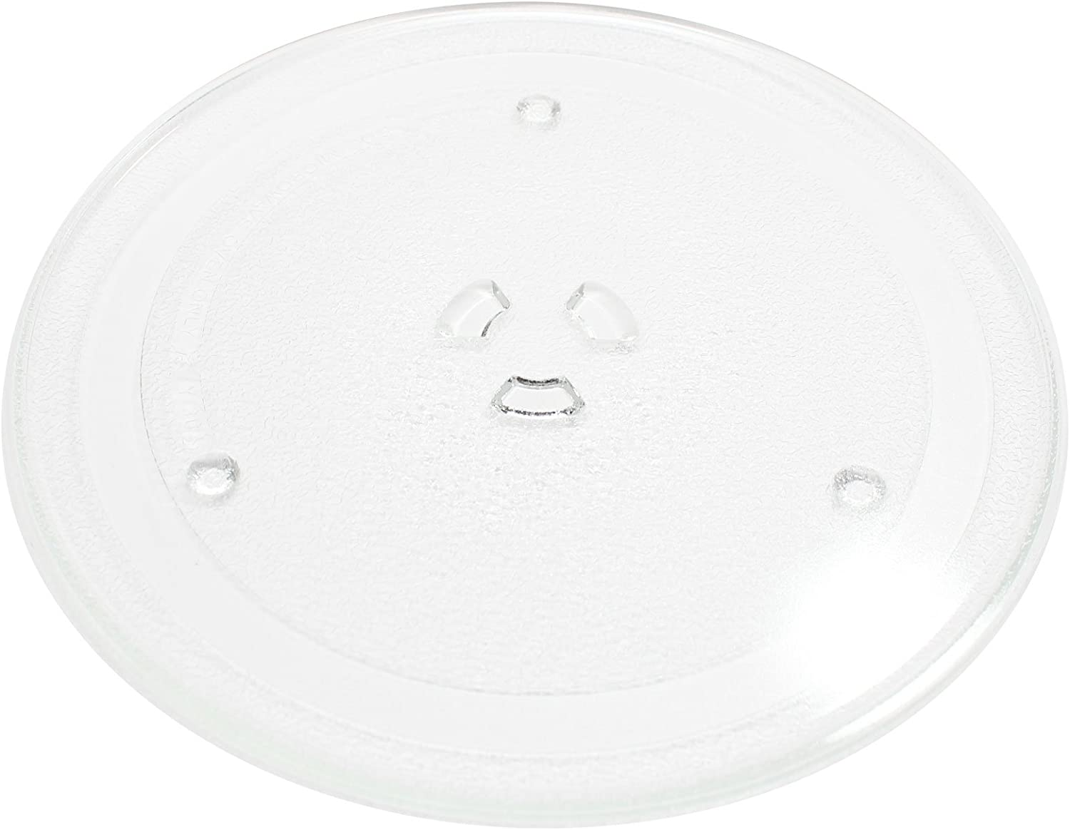 "Replacement for Samsung MW640WA Microwave Glass Plate - Compatible with Samsung DE74-00027 Microwave Glass Turntable Tray - 10"" (255mm)"