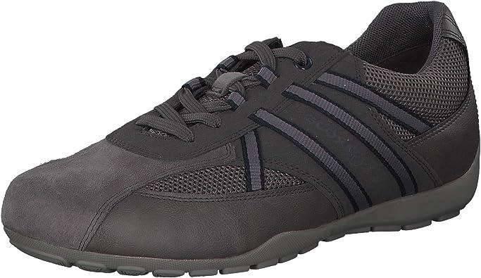 TALLA 40 EU. Geox RAVEX U923FB Hombre Zapatillas,mínimo,varón Zapatos Deportivos,Zapato con Cordones,Transpirable,Calzado,Zapatillas,Sneaker