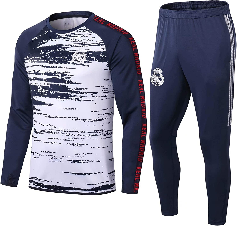 LQRYJDZ Real Madrid Football Club Former Travaille de Sport /à Manches Longues pour Hommes