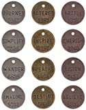 Metal Philosophy Tags by Tim Holtz Idea-ology, 12