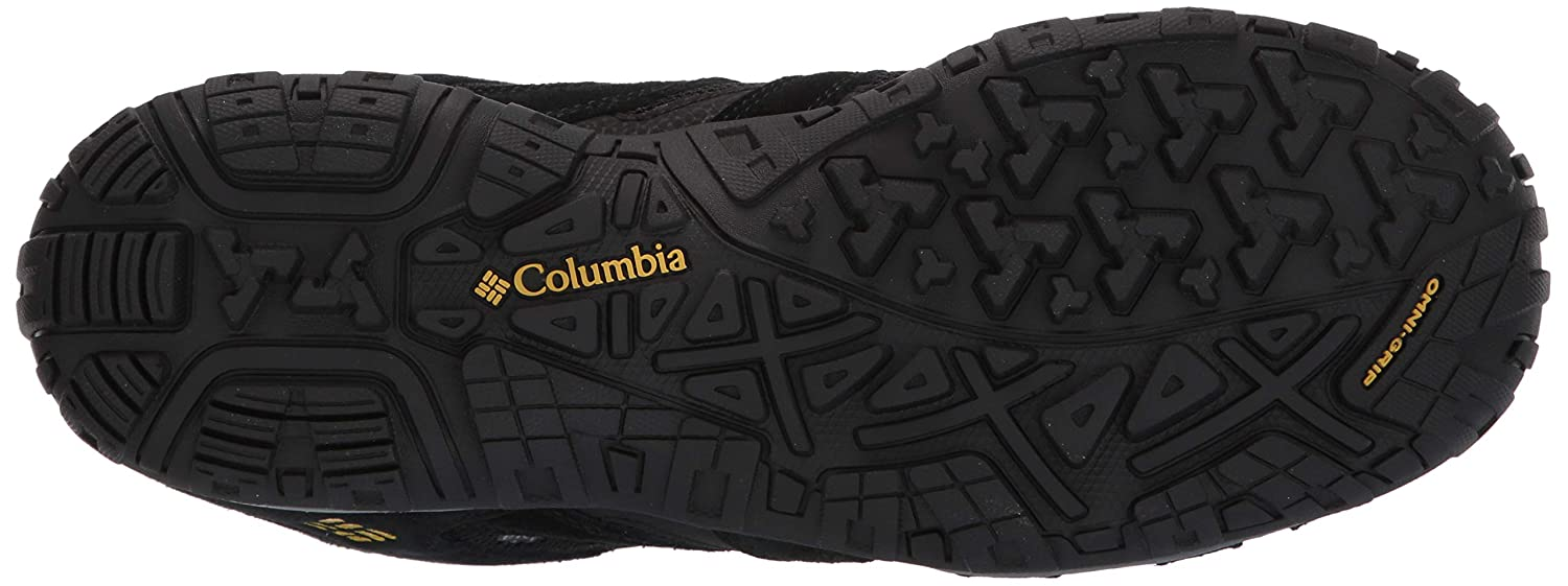 High-Traction Grip Hiking Columbia Mens Redmond Mid Waterproof Boot Breathable