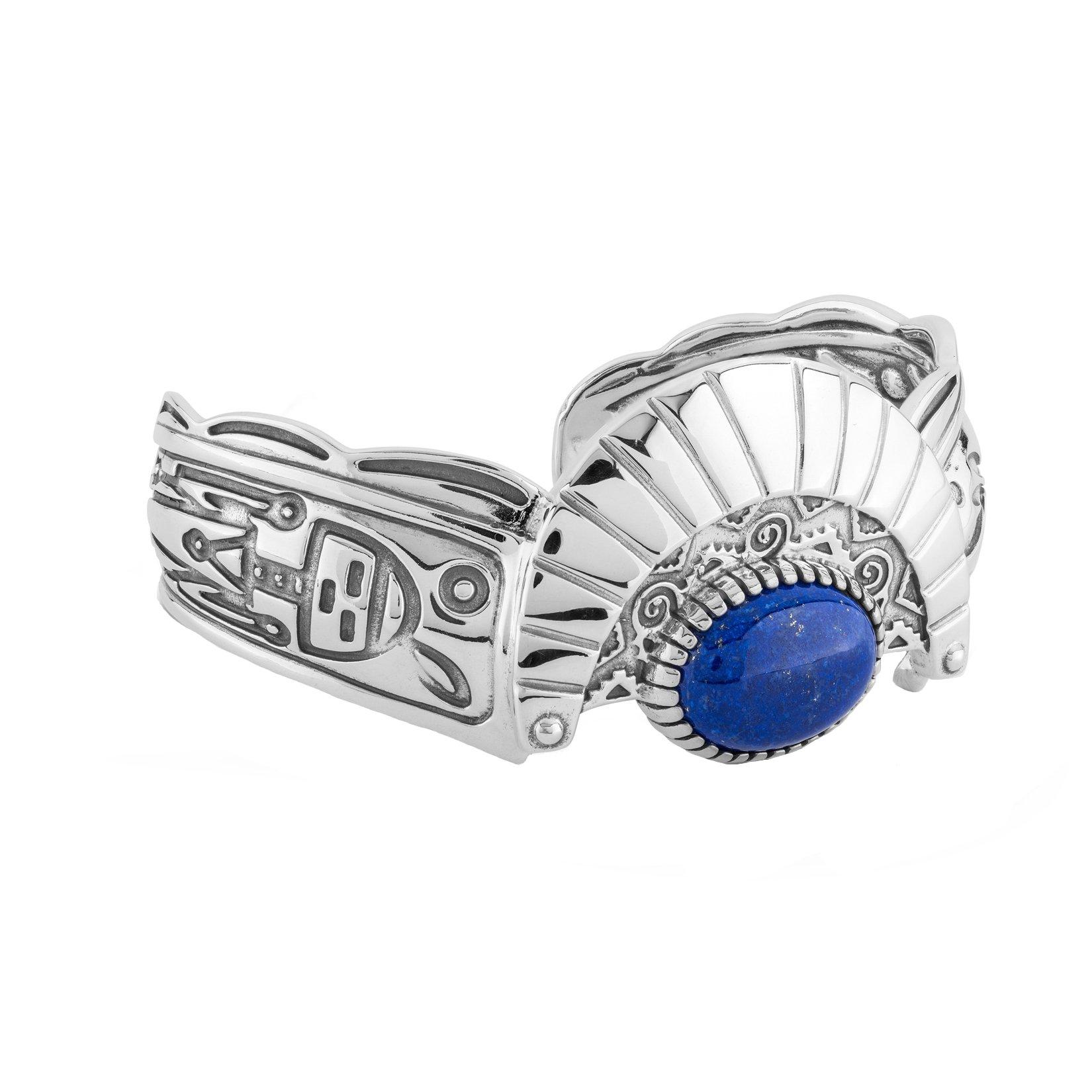 Fritz Casuse Lapis Cuff Bracelet