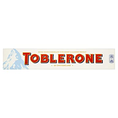 Toblerone White Chocolate Bar 360 G Pack Of 10