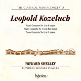 Leopold Kuzeluch:Piano Concertos [Howard Shelley; London Mozart Players] [Hyperion: CDA68154]