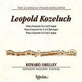 Leopold Kozeluch : Concertos pour piano. Shelley.