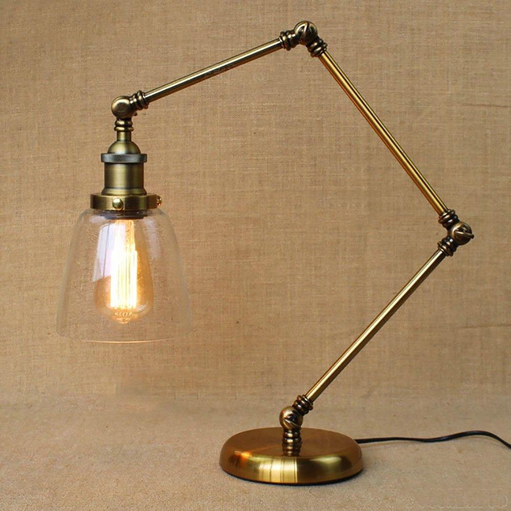 TOYM US Nordic Variety DIY Retro Nostalgic Cafe Movie Scene Decorative Table Lamps