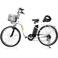 NAKTO Electric Bikes for Women Man and Adult