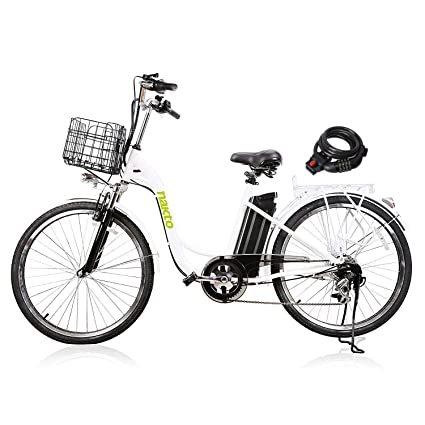 Amazon Com Nakto 26 Electric Bikes For Women Man 1 Year Warranty