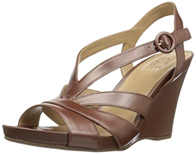 54478905c27267 Naturalizer Women s Brandy Wedge Sandal