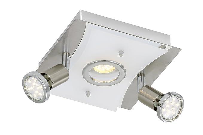Moderne Lampen 5 : Briloner leuchten led ceiling light and 1x 5 w 2 x led bulbs gu10 3