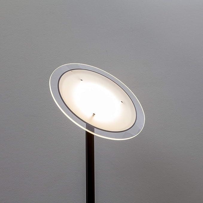 LED-Deckenfluter Malea Stehlampe Stehleuchte Dimmbar Chrom Lampenwelt