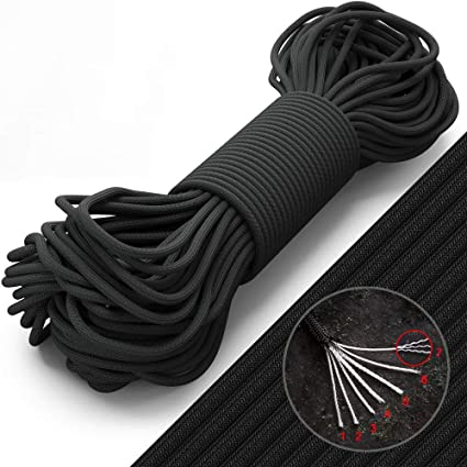 Outdoor Survival Parachute 31m New Mil Spec Type I 3 Strand Core 100 feet